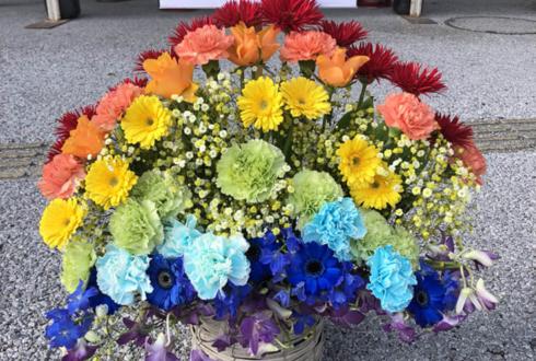 ラブライブ!フェス公演祝い花 虹イメージ @さいたまスーパーアリーナ
