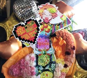 十王院カケル役 八代拓様のKING OF PRISM SUPER LIVE Shiny Seven Stars!出演祝いフラミンゴモチーフフラスタ @幕張メッセ