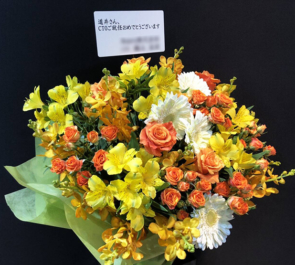道井俊介様のCTO就任祝い花 『PIXIV TECH FES.』 @都内某所