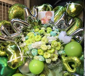 かんなちゃろ様のBDライブ公演祝いフラスタ+花束 @GARRET udagawa