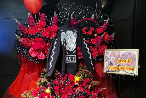 Sera様のバースデーライブ公演祝い連結フラスタ BIGスウェット「失墜」 @錦糸町rebirth
