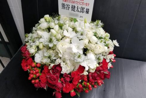 熊谷健太郎様のK4カンパニーイベント出演祝い花 @東松山市民文化センター