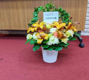 土田玲央様の音楽朗読劇「嵐が丘」出演祝い花 @TOKYO FM HALL