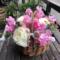 港区浜松町 事務所を飾る花 バスケットアレンジ