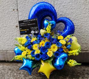 GTB様の2周年記念ファンミ&ワンマンライブ公演祝い花 @渋谷チェルシーホテル 【 #ヲモヒヲカタチニ 】