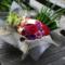 【 #月の光も雨の音も 】ご自宅用アレンジメント #ヲモヒヲカタチニ no.48 舞台『しょうぐん 天晴れェド!~喝采~』慶喜役 和合真一様フラスタ同花材アレンジ