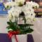 株式会社ブシロード 木谷高明様の還暦祝いSWAROVSKI付きミディ胡蝶蘭5本立