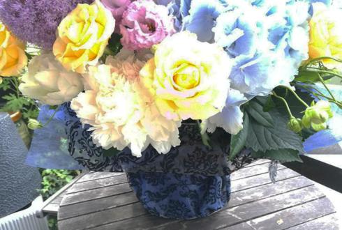 青木瑠璃子様 黒木ほの香様のラジオ番組「この木なんの木 青木と黒木」最終回祝い花 @文化放送