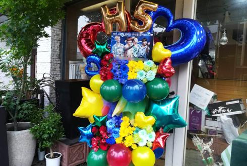 H5様の5th Anniversary&Last Live公演祝いフラスタ @新大久保K-StageO!