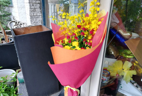 CM撮影手渡し用花束