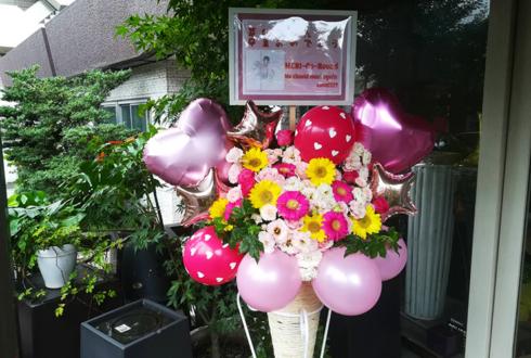 Silly°Honey 芽利様の卒業ライブ公演祝いコーンスタンド花 @小岩HITPARADE