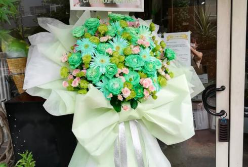 熊井友理奈様のカジュアルディナーショー開催祝い花束風フラスタ @La Donna