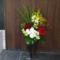 ゼニス ブティック銀座様の開店祝い籠スタンド花