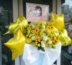 キミイロプロジェクト 姫条りなん様の生誕祭祝いフラスタ @SHIBUYA TAKE OFF 7