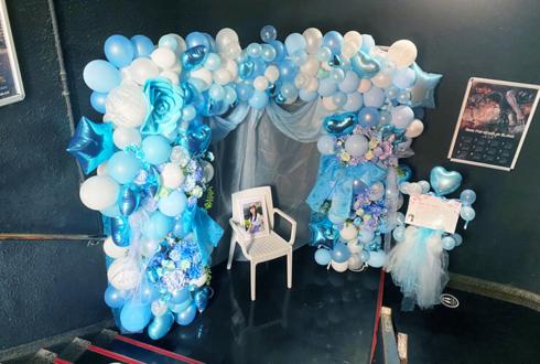 真っ白なキャンバス 小野寺梓様の生誕祭祝い連結アーチ @新宿BLAZE