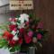 渡辺えり様 木野花様の舞台公演祝いスタンド花 @座・高円寺1