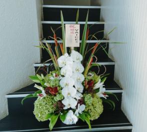 美容室 VAICE (ヴァイス)様へ 開店祝い花 @渋谷区神南