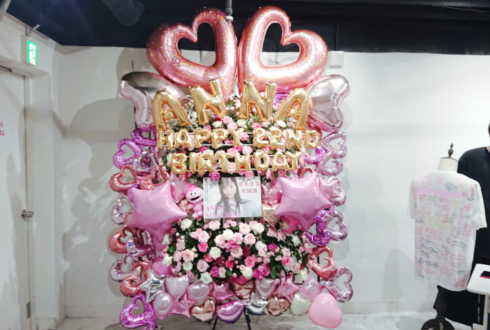 BenjaminJasmine 吉永杏菜様の生誕祭祝いフラスタ @白金高輪SELENEb2
