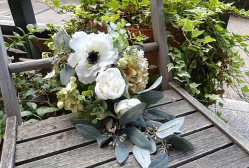 【喫茶ライフGoods】ドライフラワースワッグ - 「喫茶ライフ」の花々 -