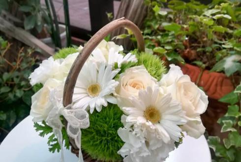 【喫茶ライフGoods】バスケットアレンジ - 「喫茶ライフ」の花々 -