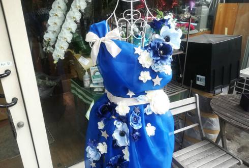高橋紫微様のBDライブ公演祝いトルソーフラスタ @内幸町ホール