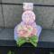 花守ゆみり様の誕生日祝い花 フラワーケーキ @株式会社m&i
