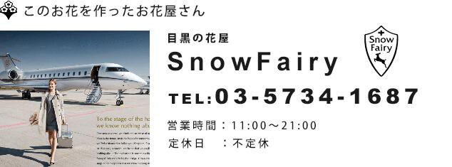 目黒花屋SnowFairyスノーフェアリー