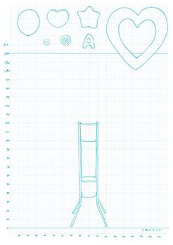 フラスタデザインシート2段