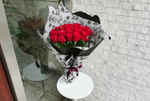 sera様のライブ公演祝い赤バラ30本の花束 @GARRET udagawa