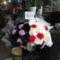 橘りょう様 須賀京介様のLINE LIVE「今なにしてる?」配信祝い花 オーバルデザイン