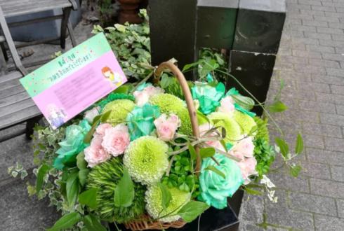 豊崎愛生様の誕生日祝い花 @文化放送