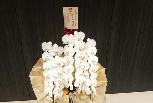日本ビジネスシステムズ株式会社様の役員就任祝い胡蝶蘭 @虎ノ門ヒルズ森タワー