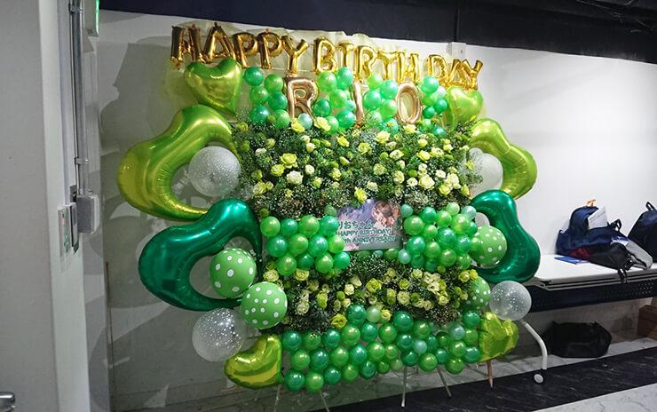 BenjaminJasmine 日高里緒様の生誕祭祝い連結フラスタ @白金高輪SELENE b2