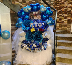 AIⓇPEN RYO様の生誕祭祝いフラスタ @六本木CLUB EDGE