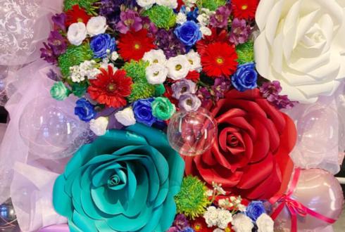 花と風様のライブ公演祝いフラスタ @渋谷CLUB VIZEL