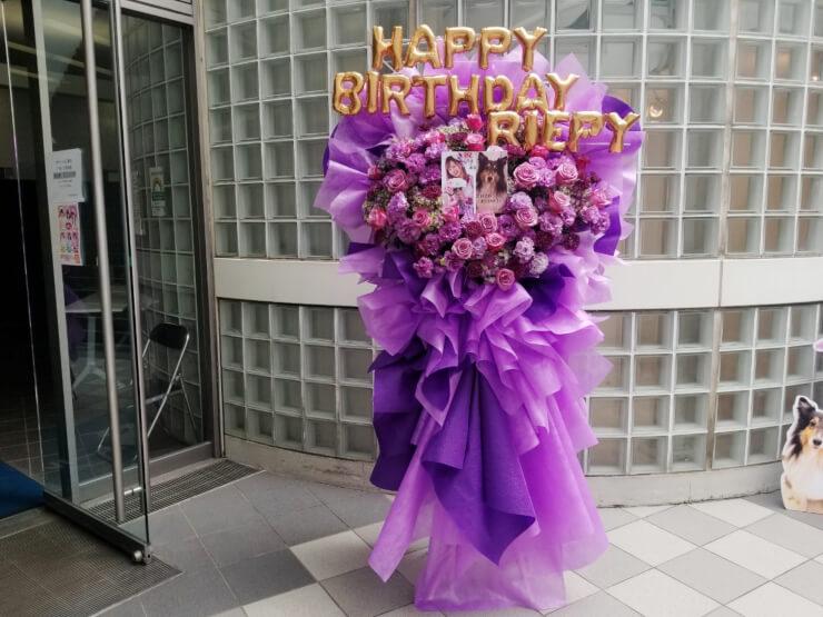 白星☆ウィクトーリア 高橋莉江様の生誕祭祝い花束風スタンド花 @高田馬場BSホール