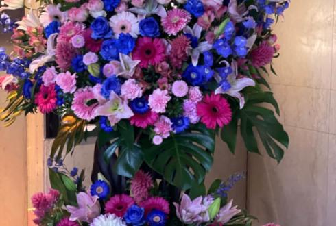 たけうち亜美様の誕生日祝いスタンド花 @六本木高級クラブ瑾鵾花(キンコンカ)