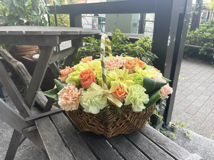 petit fleurs(森中花咲・御伽原江良)様の1stライブ公演祝い花 @TACHIKAWA STAGE GARDEN