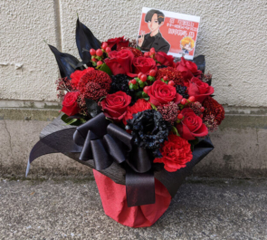 田中柊斗様のリリイベ祝い花 @四谷LOTUS
