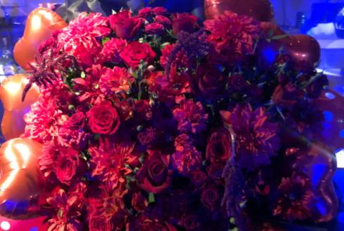 unclose様のライブ公演祝い花 @音楽実験室 新世界