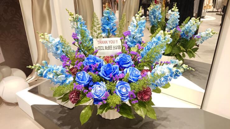 CECIL McBEE 渋谷109店様の閉店に感謝と労いの花 @SHIBUYA109 2F
