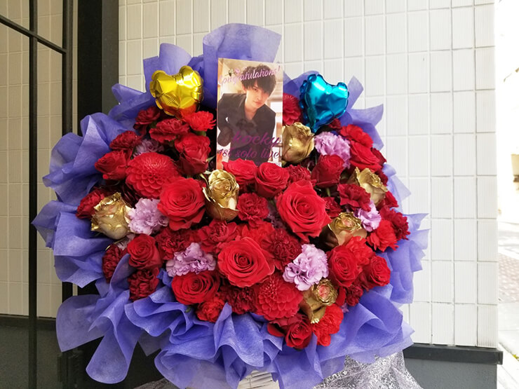 AIⓇPEN KOCKY様のライブ公演祝い花 @高田馬場LiveCafe mono