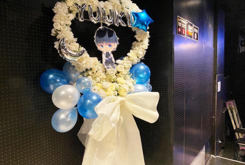 Tani Yuuki様のライブ公演祝いハートリースフラスタ @代官山LOOP