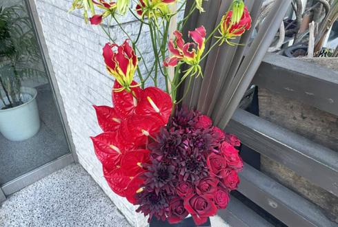 石岡瑛子様の展示会開催祝い花 @ギンザ・グラフィック・ギャラリー