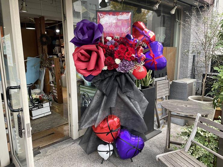 葛葉様 剣持刀也様の虚空集会出演祝いフラスタ 赤×紫 @KT Zepp Yokohama