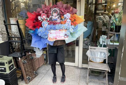 戌亥とこ様 アンジュ・カトリーナ様 リゼ・ヘルエスタ様 樋口楓様 星街すいせい様のライブ公演祝い花 【特大サイズ】 @KT Zepp Yokohama