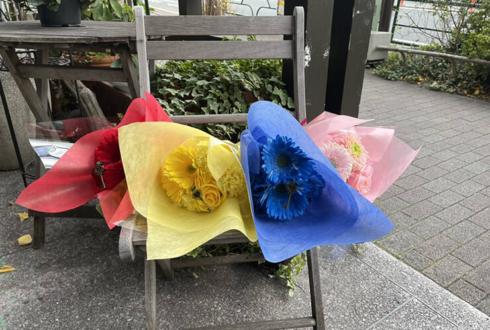 PRIZE-OUT様のライブ公演祝い花束 @新宿ヘッドパワー