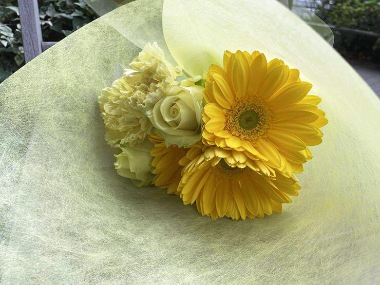 アクアノート様の5thワンマンライブ公演祝い花束 @オルタナティブシアター