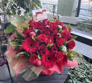 高橋紫微様のライブ公演祝い楽屋花 xmasアレンジ @AKiBA SinfoniA