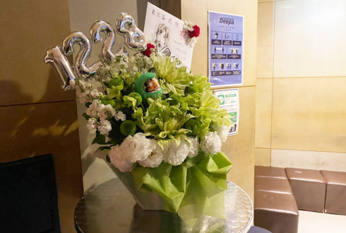 戦国GEKOKUJO 栗花落迅様の生誕祭祝い花 @大塚Deepa